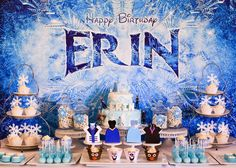 Frozen (Disney) Birthday Party Ideas | Photo 7 of 40 | Catch My Party