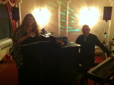 Edward and Paula performing as Ace Duo