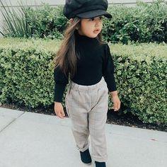 Cute Little Girls Outfits, Cute Baby Girl Outfits, Kids Outfits Girls, Toddler Girl Outfits, Cute Baby Clothes, Little Girl Dresses, Babies Clothes, Baby Girl Fashion, Toddler Fashion