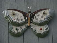 Trash to Treasure: 40 Creative Recycled and Repurposed Artworks / inspirationfeed.com on imgfave