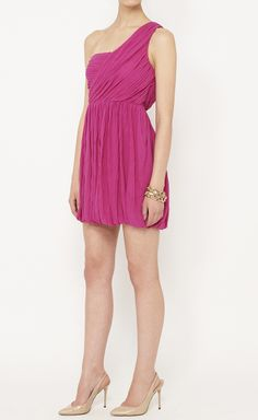 Theory Fuchsia Dress | VAUNTE