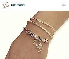 Resultado de imagem para Rommanel pulseira de couro 2016
