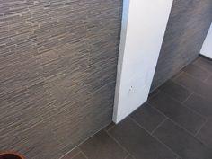 Skifer stavmosaikk til vegg. Perfekt til for eksempel brannmur. Tile Floor, Flooring, Tile Flooring, Wood Flooring, Floor