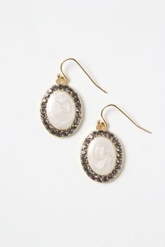 #engagementparty Anthropologie Pave Isalnd Posts. $158. Ivory Earrings for the Aisle. @Anthropologie .