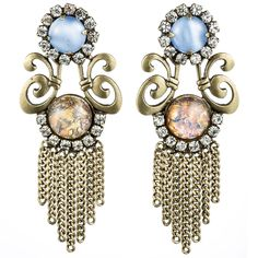 Dannijo Jasmine Earrings | Wantering Trends – Spring 2013 | #wanteringtrends go to http://springtrends2013.wantering.com/ for more!