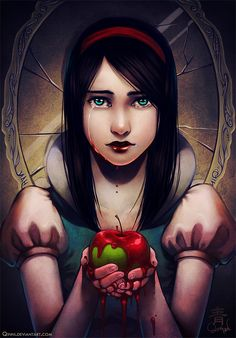 Snow White by Qinni.deviantart.com on @deviantART