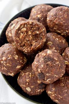 These chocolate peanut butter energy bites will powder you through everything from a tough workout to a hungry afternoon!
