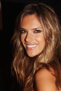 Alessandra Ambrosio-  Hair & makeup.