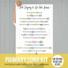 Nephis Courage, Baptism Talk, Primary Songs, Lds Primary, Primary Lessons, Bee Icon, Primary Chorister, Singing Time, Singing Lessons
