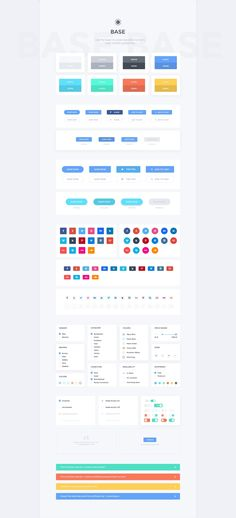 With more that 1000 different elements, nicely divided into 7 organized layered sections, Comet is an elegant Ecommerce UI Kit for Photoshop that will be perfect for creating eShop websites!  Comet brings 9 Product Showcase Options, 10 Ecommerce Headers, Endless Cards and Sliders Options and the usual Navigation + Forms + Article layouts. You can create multiple UI combinations, edit colors, graphics and everything you need.