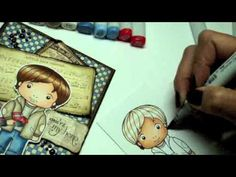 Copic Tutorial: More on Skin & Hair and the Colorless Blender