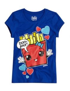 This Is A Very Cute French Fries Graphic Tee