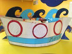 Καλοκαιρινά καράβια από χαρτόκουτα!!!