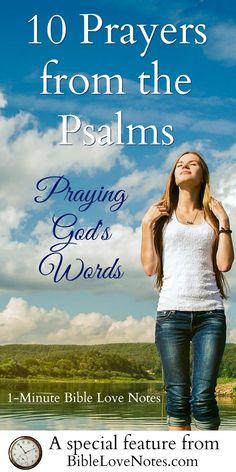 10 Good Prayers From Psalms