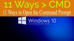11 Ways to Open the Command Prompt in Windows 10