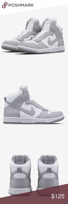 Nike Lab X Sacai Dunk lux women's size 5.5 New without box. Wolf Grey/White/Wolf Grey 776446-001 Nike Shoes Athletic Shoes