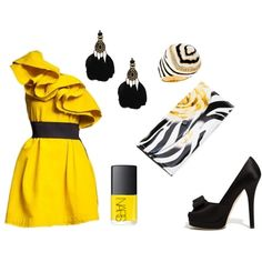 Queen Bee, created by virtuousathena on Polyvore