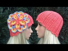 How to Crochet a Beanie Hat Pattern #14 │ by ThePatterfamily