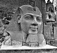 Granite Head of Ramesses II - Luxor by Camerons Personal Page, via Flickr