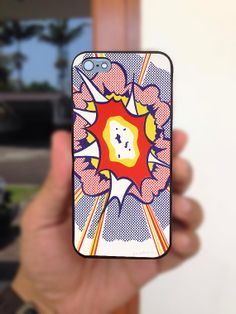 Lichtenstein Explosion iPhone case for iPhone 4 4S by AMPMcase 6c2e7022f9291