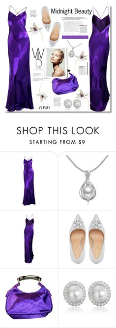 """""""~Midnight Beauty~"""" by amethyst0818 ❤ liked on Polyvore featuring Yves Saint Laurent"""