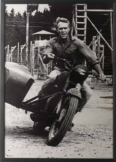 "Steve McQueen - ""The Great Escape"""