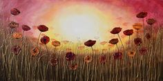 Buy Autumn Sunshine Poppies, Acrylic painting by Amanda Dagg on Artfinder. Discover thousands of other original paintings, prints, sculptures and photography from independent artists.