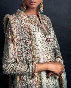 ~ Living a Beautiful Life ~ Zara Shahjahan Pakistani Wedding Outfits, Pakistani Dresses, Indian Dresses, Pakistani Shadi, Ethnic Outfits, Indian Outfits, Eid Outfits, Asian Fashion, Boho Fashion