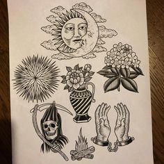"7,402 Synes godt om, 28 kommentarer – Jack Ankersen (@jack_ankersen) på Instagram: ""Here is some new designs. If you want to get anyone tattooed email jack_ankersen@hotmail.com"""