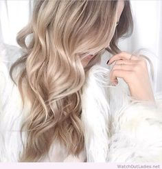 white blonde balayage - Google Search