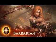 """""""Barbarian""""(Diablo III) - Original SpeedPainting by TAMPLIER 2015"""