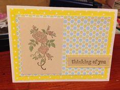 Pocket full of sunshine handmade card by Kjones. Please visit my etsy store mygift2you