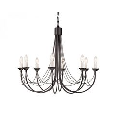 Elstead Lighting Carisbrooke Eight Light Chandelier from £540.00 with FREE delivery!