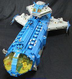 "LL-888 - ISS Europa, a ""Hornet"" Class Pocket Carrier | Neo Classic Space"