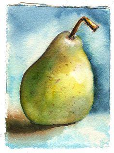 Green Pear du jour by marthalever, via Flickr