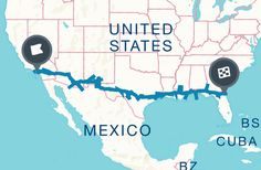 Roadtrippers | Ultimate Road Trip Guide: The Best of Everything Along I-10 Map