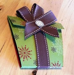 Swirled Gift Card Holder by Purplevale - Cards and Paper Crafts at Splitcoaststampers