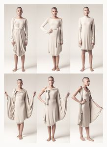 A great alternative to a traditional infinity dress. Convertible Clothing, Convertible Dress, Sewing Clothes, Diy Clothes, Transformer Dress, Nursing Scarf, Multi Way Dress, Do It Yourself Fashion, Infinity Dress