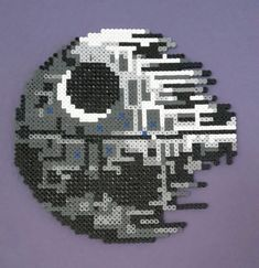 Star Wars Death Star / Hama perler beads / by Bianca Jung