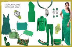 Go green this season and not just in the ecological sense! OK! helps you to turn over a new leaf in your closet with some must-have emerald accessories.