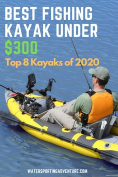 If you're looking for a fishing kayak on a budget, then you'll want to check out our list of the 8 best fishing kayaks for under Fishing Kayak Reviews, Best Fishing Kayak, Fishing 101, Saltwater Fishing, Fly Fishing, Tandem Fishing Kayak, Fishing Hats, Marlin Fishing, Fishing Tools