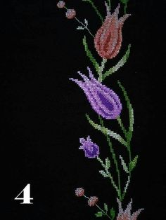 Cross Stitch Rose, Embroidery Stitches, Brooch, Asdf, Floral, Flowers, Jewelry, Cross Stitch Embroidery, Towels