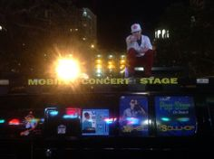 Downtown St Pete on the Mobile Concert Stage