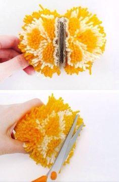 pompon citron