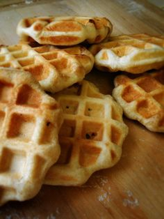 Korean sugar waffles