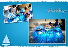 Τραπέζι ευχών για βάπτιση