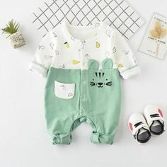Beautiful Tiger Design Long-sleeve Bodysuit for Baby Baby Outfits Newborn, Baby Boy Outfits, Kids Outfits, Cute Baby Boy, Cute Baby Clothes, Baby Boy Fashion, Kids Fashion, Kids Costumes Boys, Tiger Design