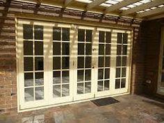 french doors bifold - Google Search French Doors, Sweet Home, Garage Doors, Windows, Outdoor Decor, Furniture, Google Search, Board, Home Decor