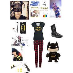 Batman by jordo39 on Polyvore featuring polyvore fashion style rag & bone Ash