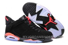 f59f11fd4186 Air Jordan 6 Retro Low Chrome Black Metallic Silver Men DYA6R